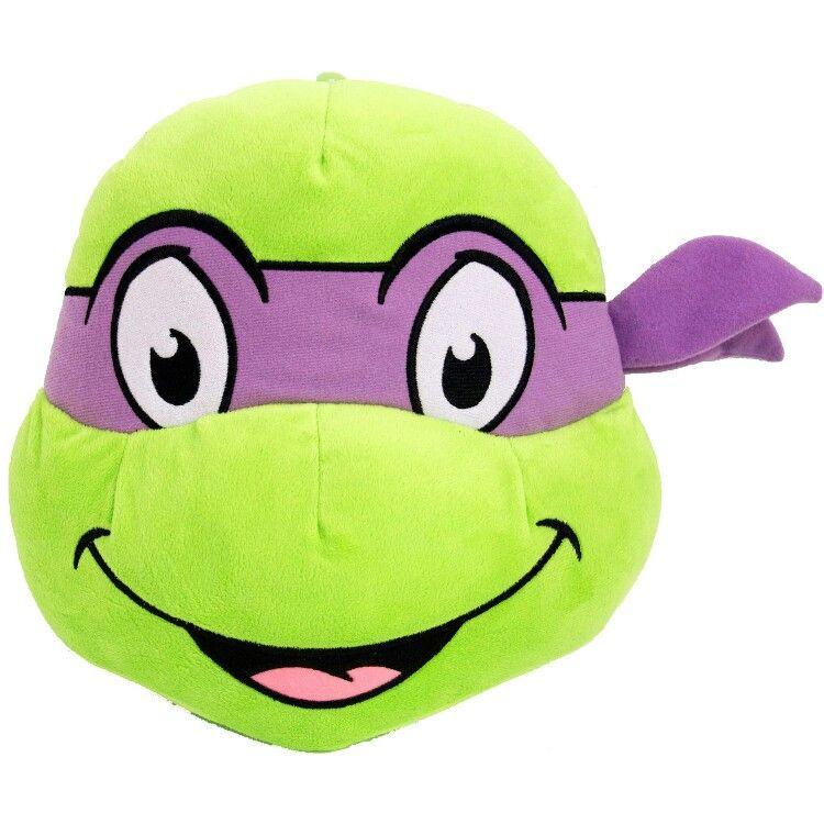 Donatello face pillow donatello ninja turtle toddler
