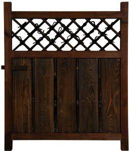 Amazon.com: Oriental Furniture Simple Rustic Beautiful, 3-Feet Tall Japanese Garden Gate Wooden Fence Door WD96232: Home & Kitchen
