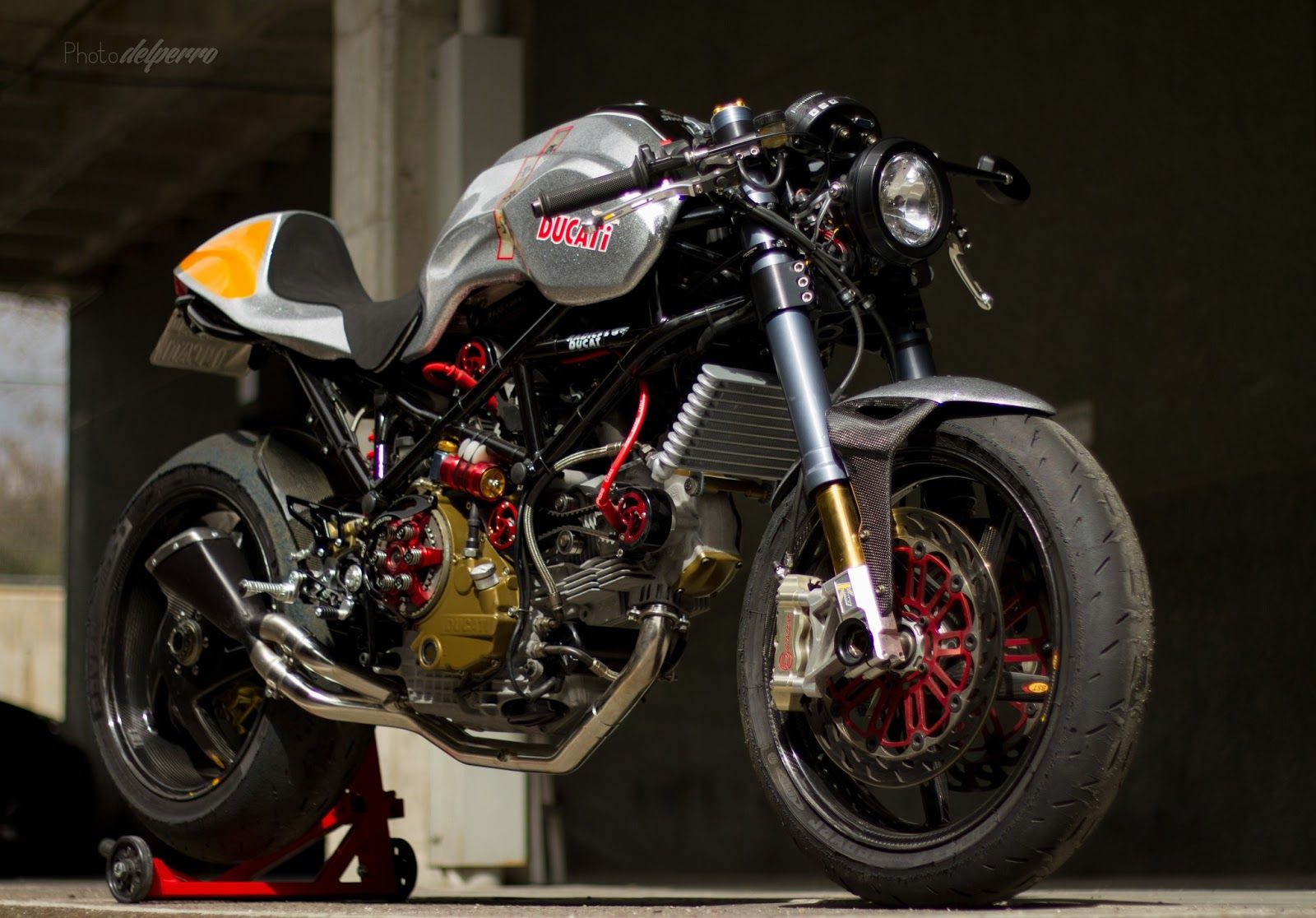 "Racing Cafè: Ducati ""Silver Shotgun"" 2013 by Radical Ducati"