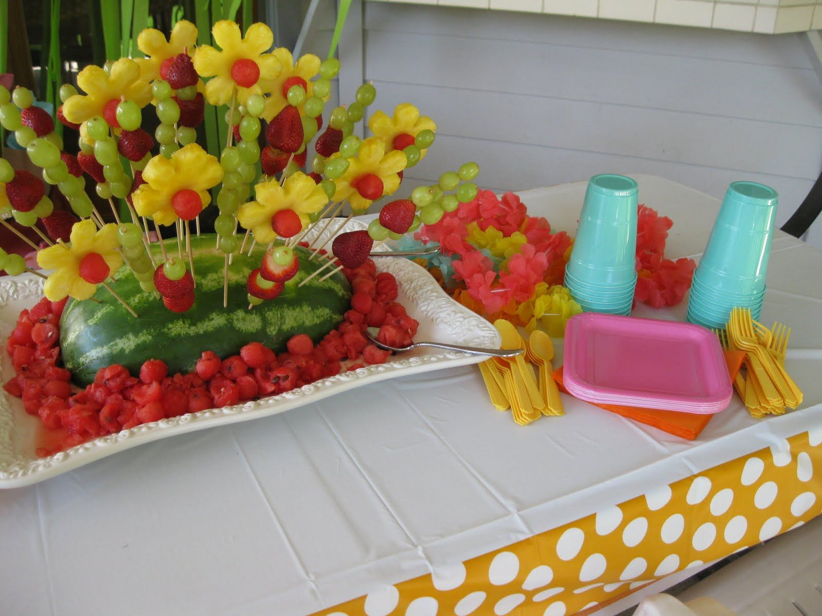 Luau Party Ideas Today Was My Daughters 9th Birthday