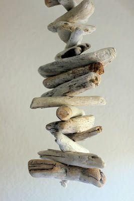 How To Make A Driftwood Mobile Driftwood Mobile Driftwood Diy
