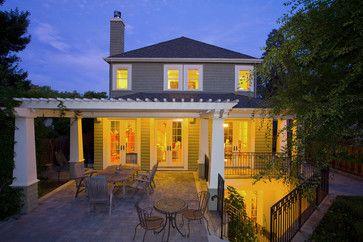 Patio - Palo Alto Craftsman - craftsman - spaces - san francisco - Noel Cross+Architects