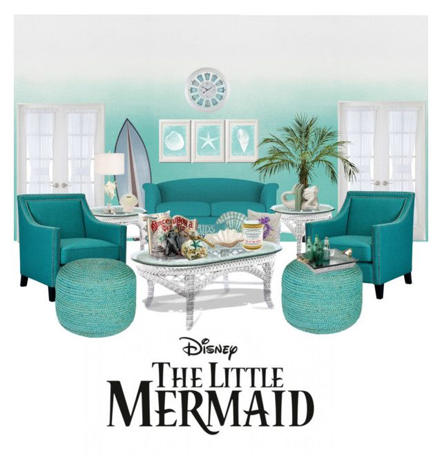 The Little Mermaid Inspired Living Room, Little Mermaid Furniture
