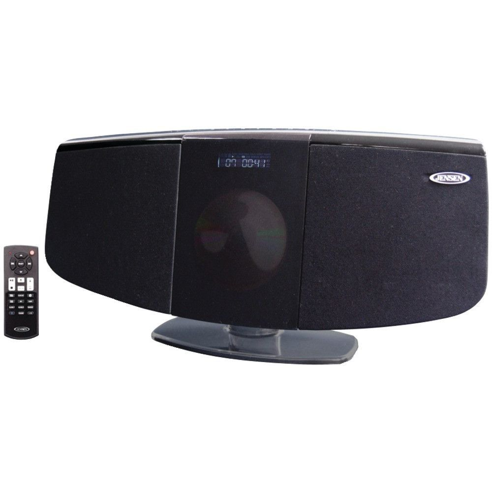 JENSEN JBS-350 Bluetooth(R) Wall-Mountable Music System with CD Player