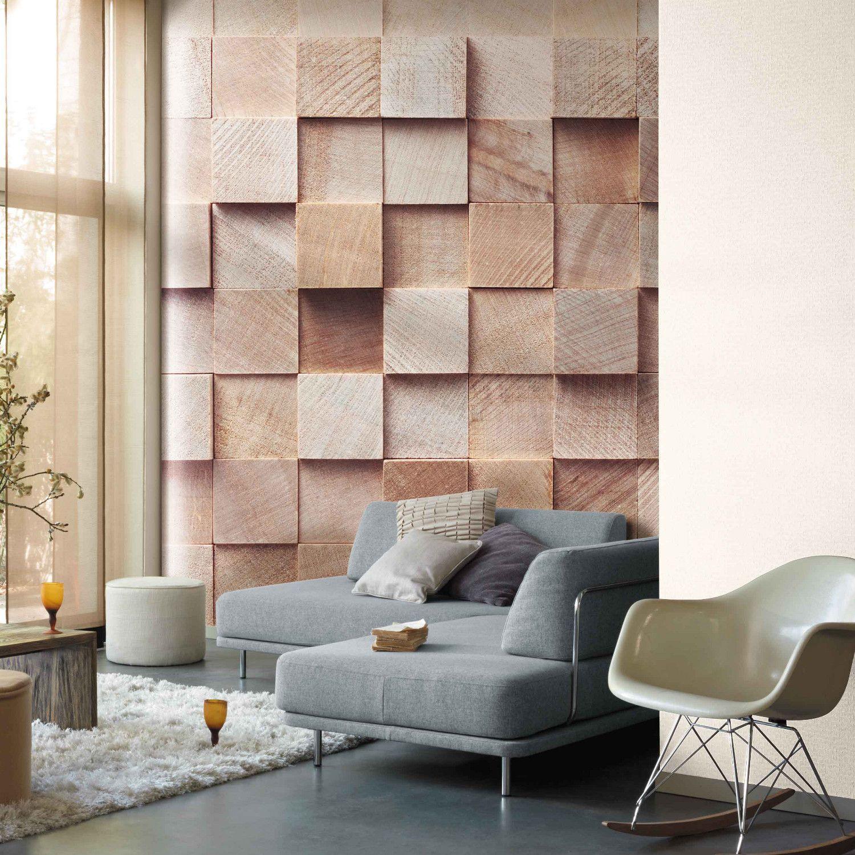 dcor mural panoramique cube effet trompe lil httpwwwdeco et saveurscom3612 decor mural numerique cube non tissehtml