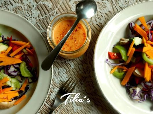 Rote Thai Curry Sauce (Rohkost) - RAW Red Thai Curry Sauce