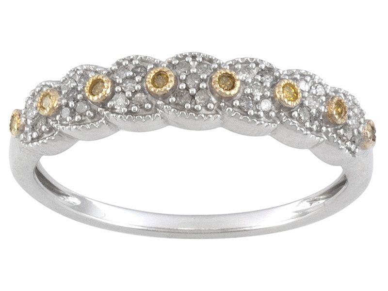 SUNGLO YELLOW DIAMOND™ AND WHITE DIAMOND  15CTW ROUND