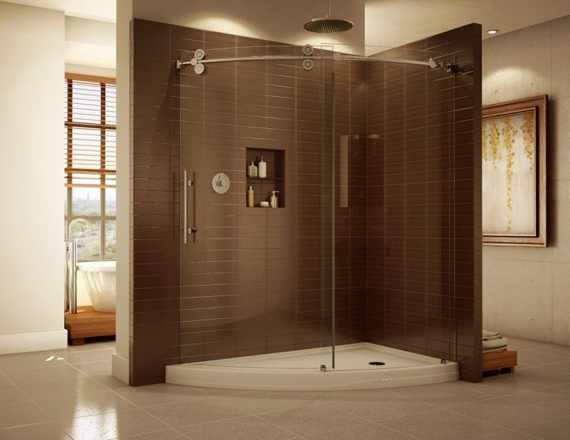 20 Beautiful Ceramic Shower Design Ideas | Large shower, Walls and House