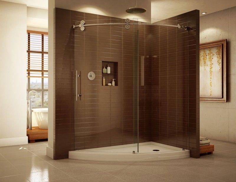 20 Beautiful Ceramic Shower Design Ideas | Pinterest | Large shower ...