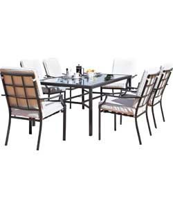 Buy Barcelona 6 Seater Patio Furniture Set At Argos.co.uk   Your Online