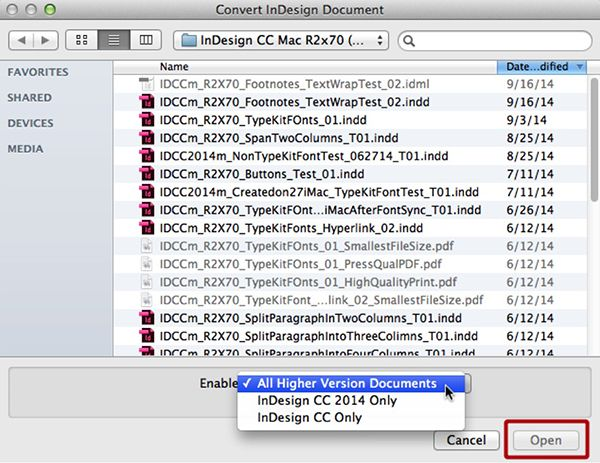 How to Open InDesign Documents in Older Versions | CreativePro com