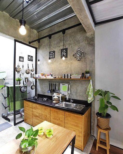 Dapur Luar Ruangan Dapur Rumah Rumah