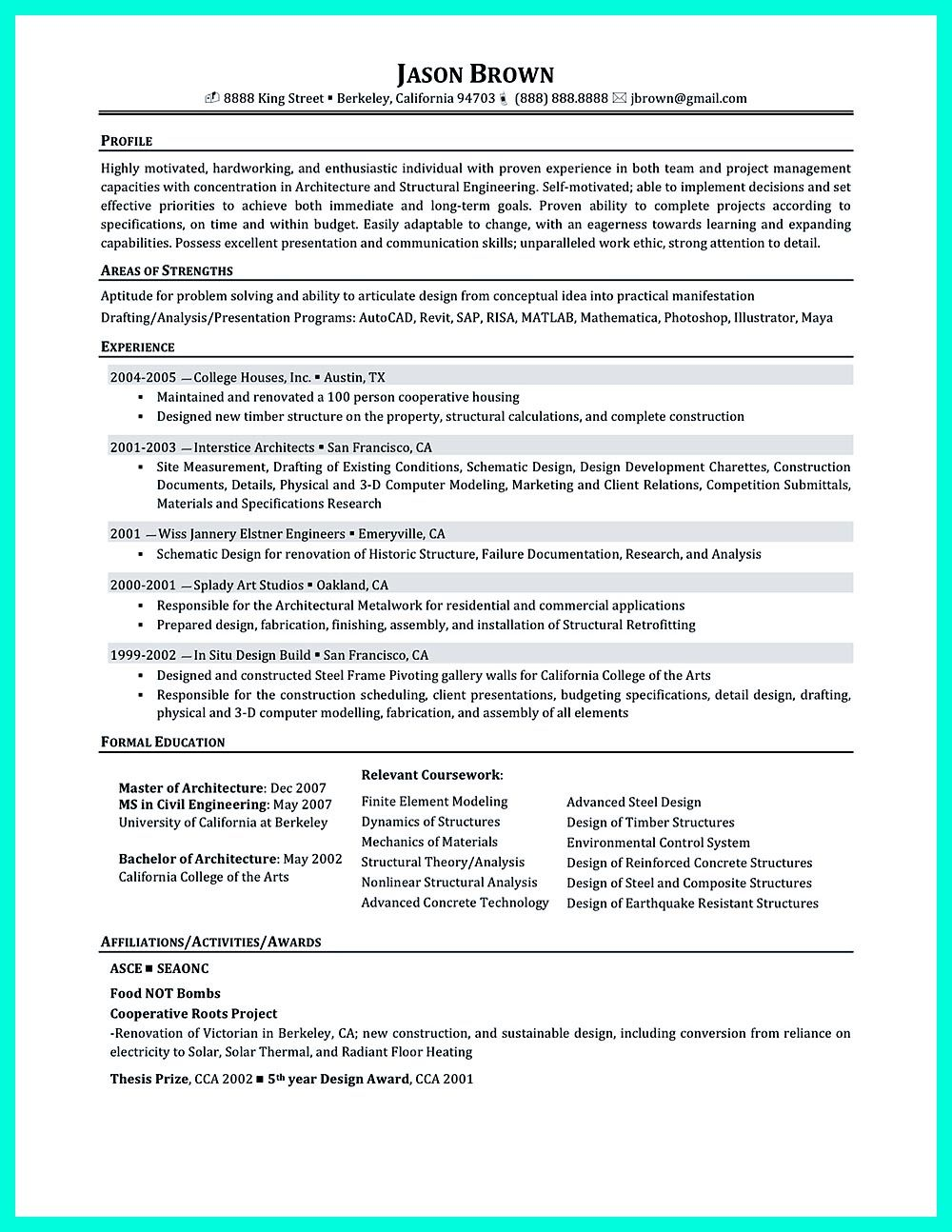 Construction management resume is designed for a professional who ...
