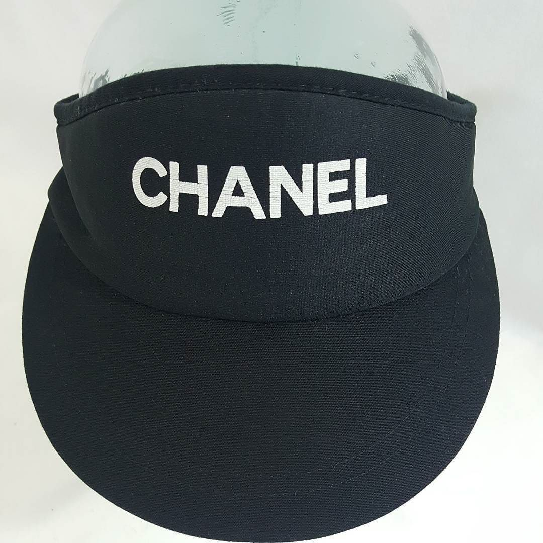8bb6bf6611969 Bootleg Chanel Visor  8 shipped paypal only.  thriftstigators  freeshipping   amazonseller  ebayseller