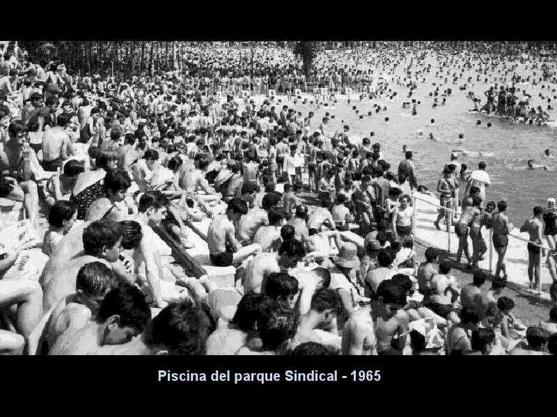 Piscina Del Parque Sindical 1965 Joyas Del Barrio De Estrecho