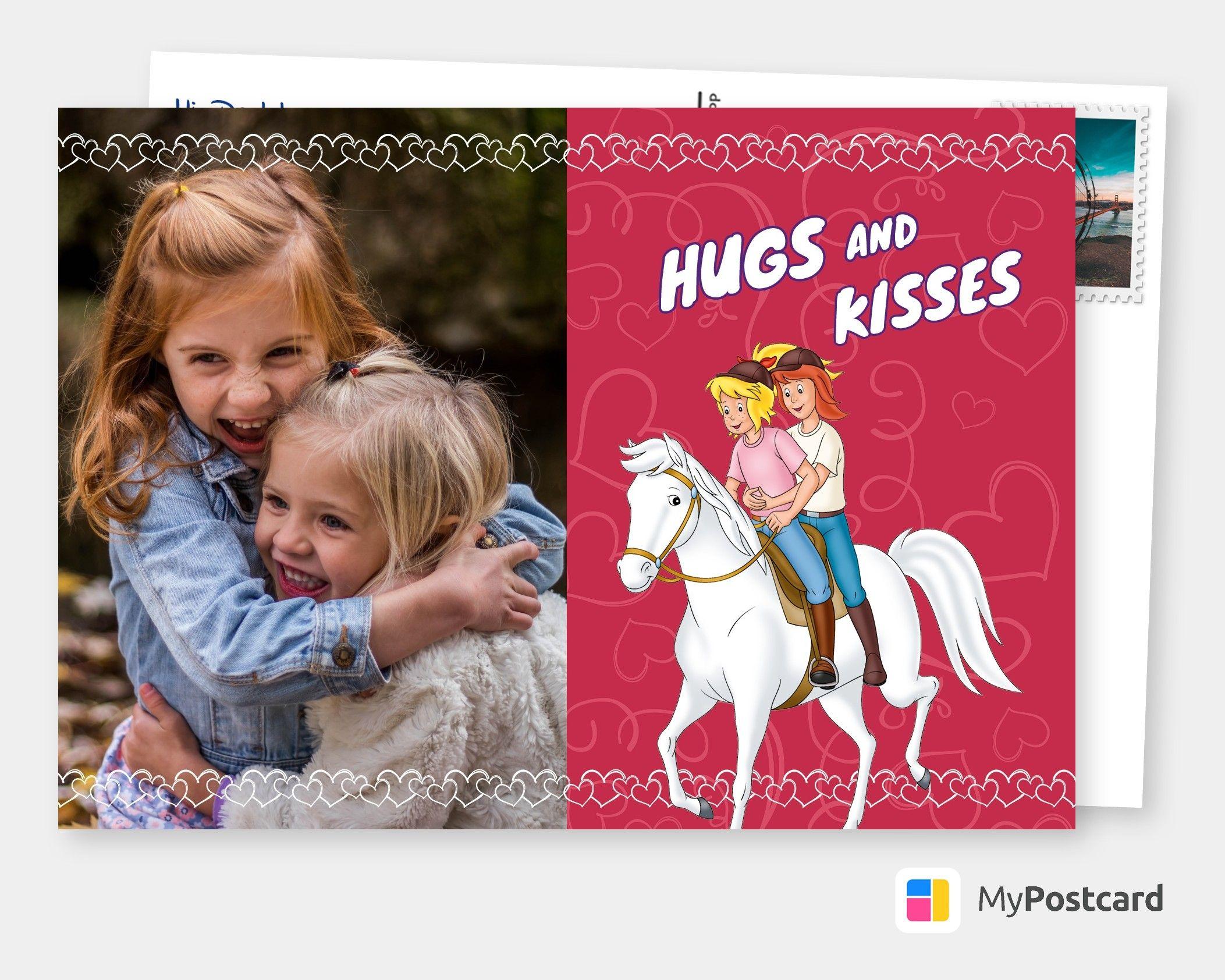 Hugs And Kisses Film Musik Karten Echte Postkarten Online Versenden Postkarten Postkarte Versenden Grusskarte