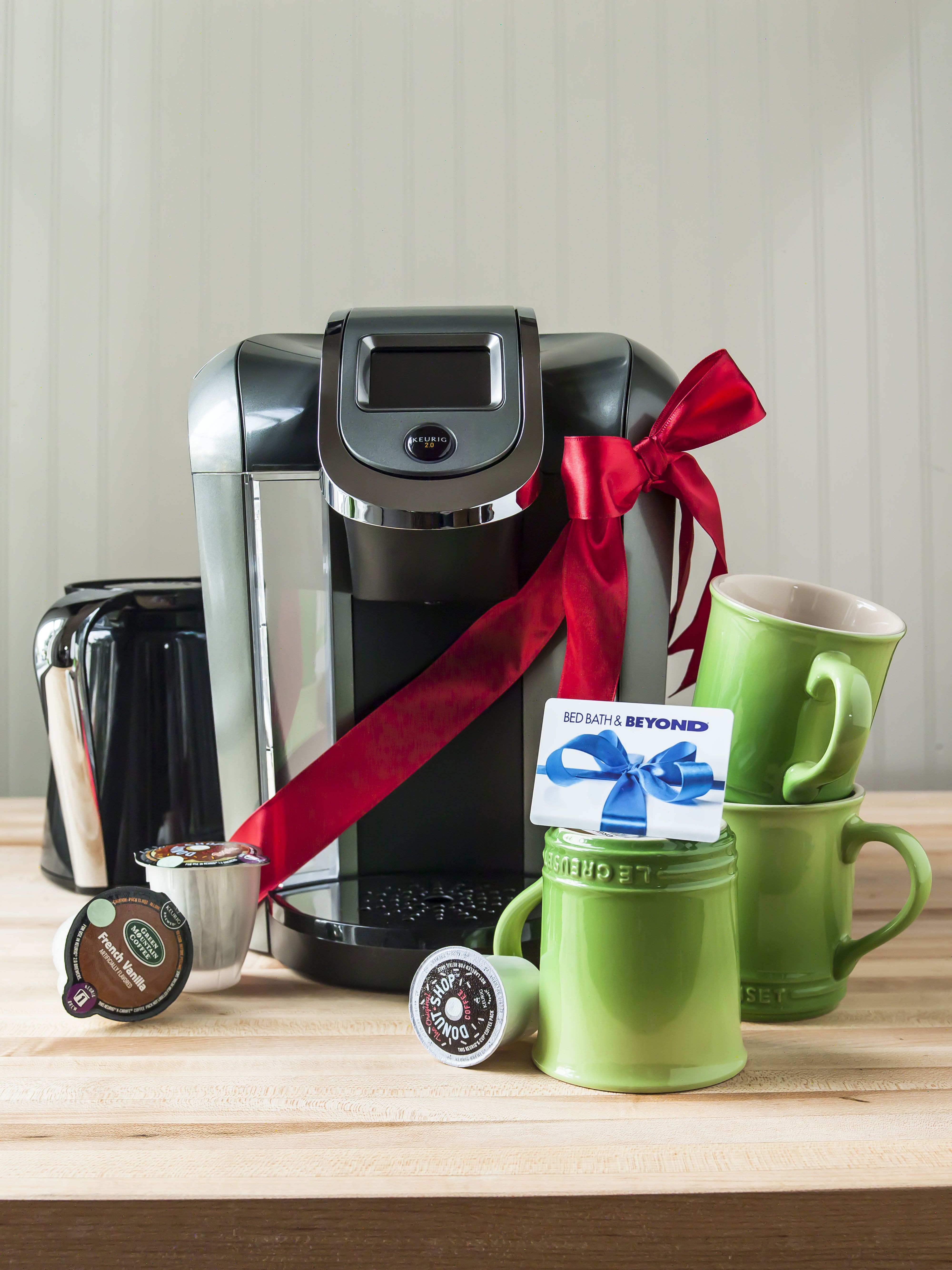 For the coffee drinker Top off your perfect gift by