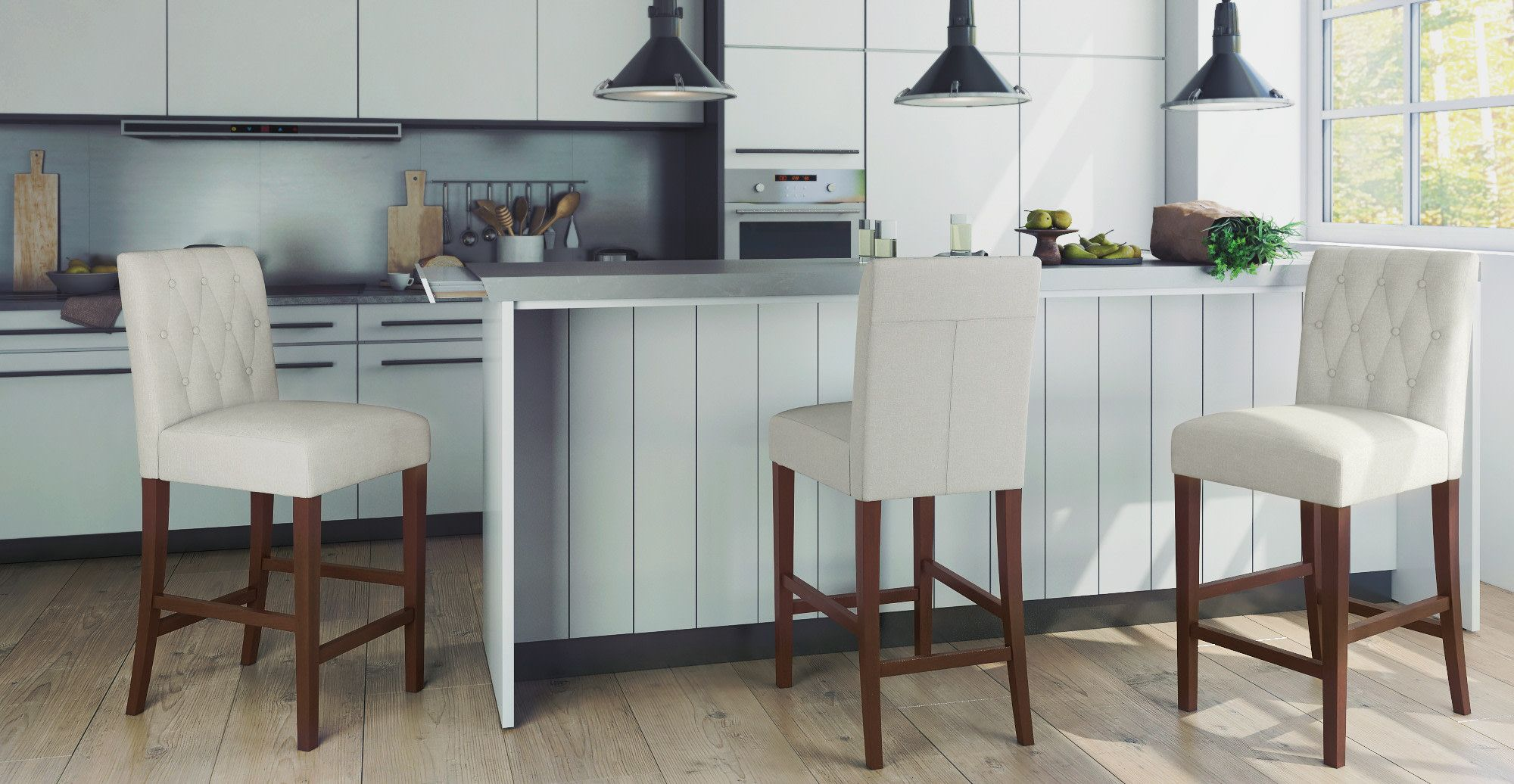 How To Choose The Right Bar Stool Height - Brosa