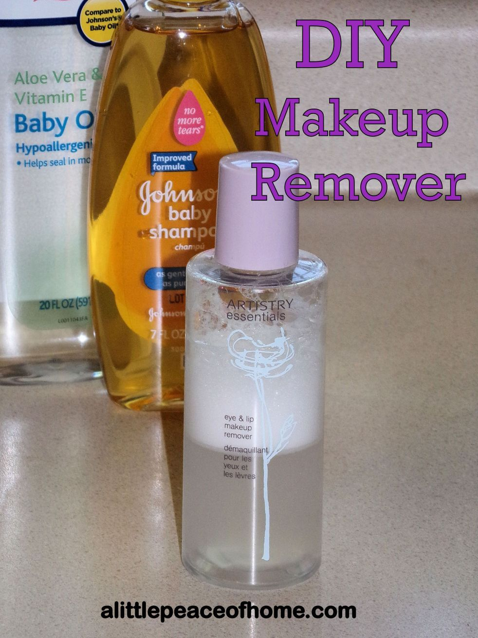 DIY Eye Makeup Remover | A Little Peace of Home