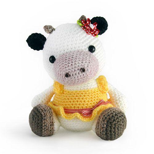 Unique Cow Crochet Pattern Vignette Easy Scarf Knitting Patterns