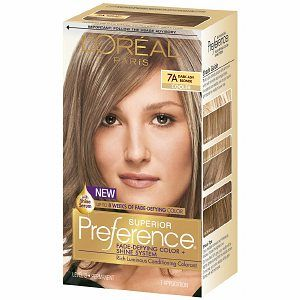 L Oreal Preference 7a Dark Ash Blonde With Images Loreal Hair