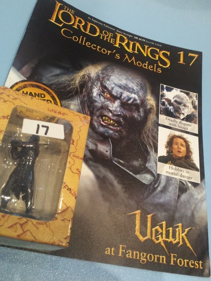 Collectors Hand Painted Lead Model Magazine LOTR Eaglemoss 17 Ugluk in Collectables, Fantasy/ Myth/ Magic, Lord of the Rings/ Tolkien   eBay