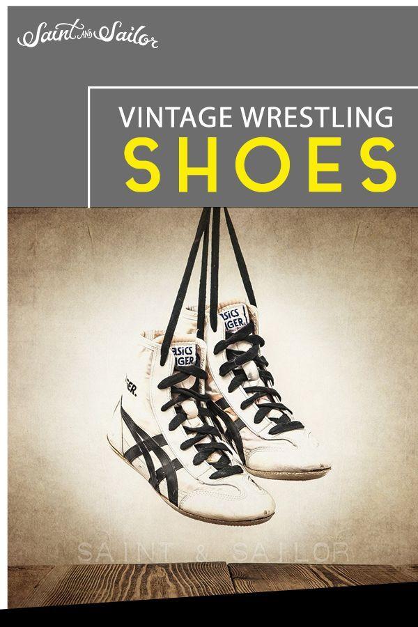 Wrestling Room Design: Vintage Wrestling Shoes In 2020