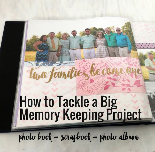 How To Start A Memory Keeping Project Tips For Starting A Scrapbook