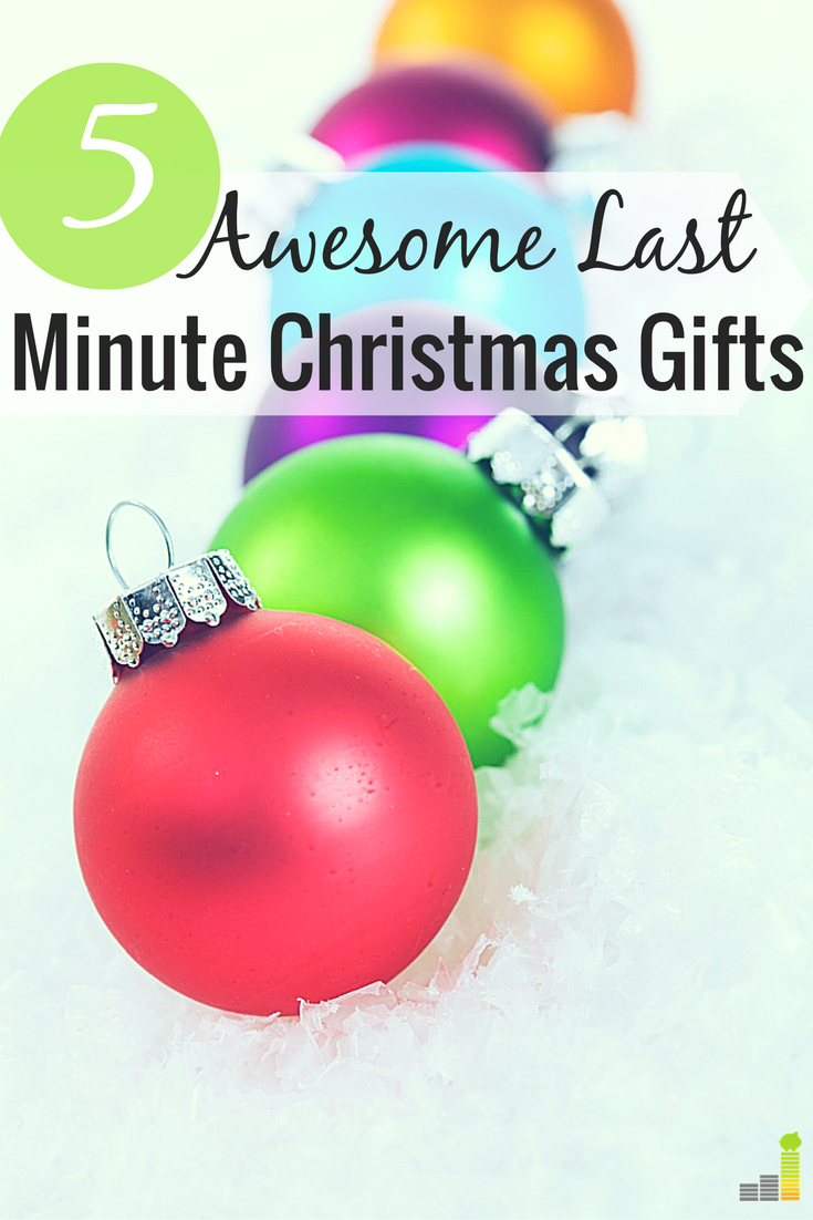 5 Fun and Frugal Last Minute Christmas Gifts | Holidays on a Budget ...