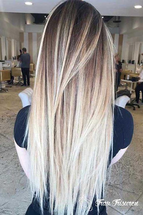 Erstaunliche Lange Gerade Frisuren Fur Frauen Lange Blonde Haare Haarfarben Frisuren Lang