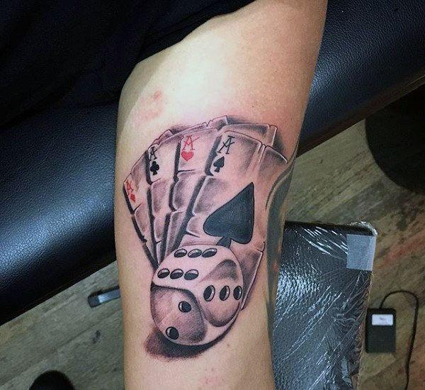GlГјckГџpiel Tattoo