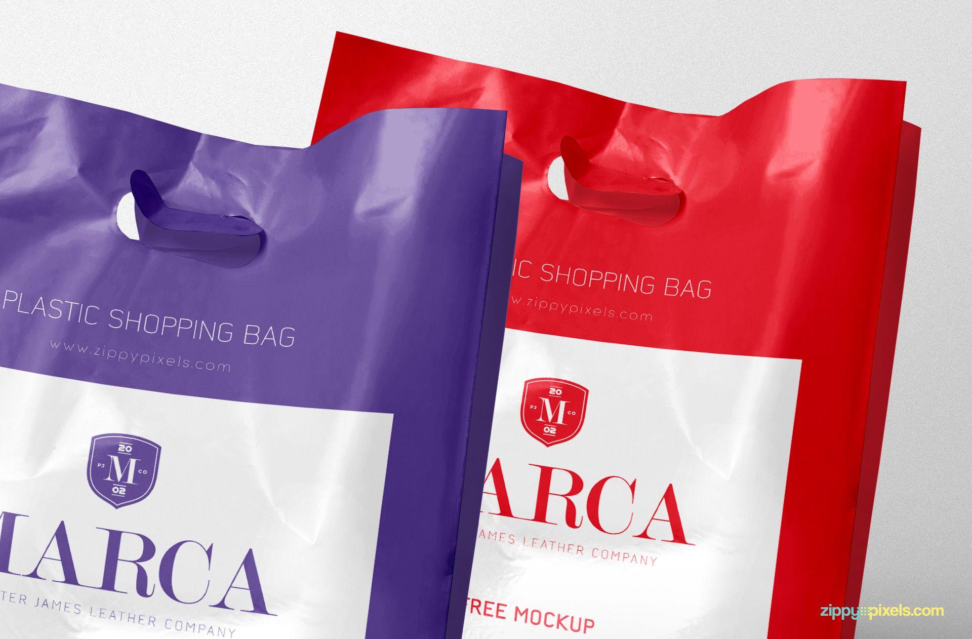 Download Free Plastic Bag Mockup Zippypixels Bag Mockup Plastic Shopping Bags Plastic Bag