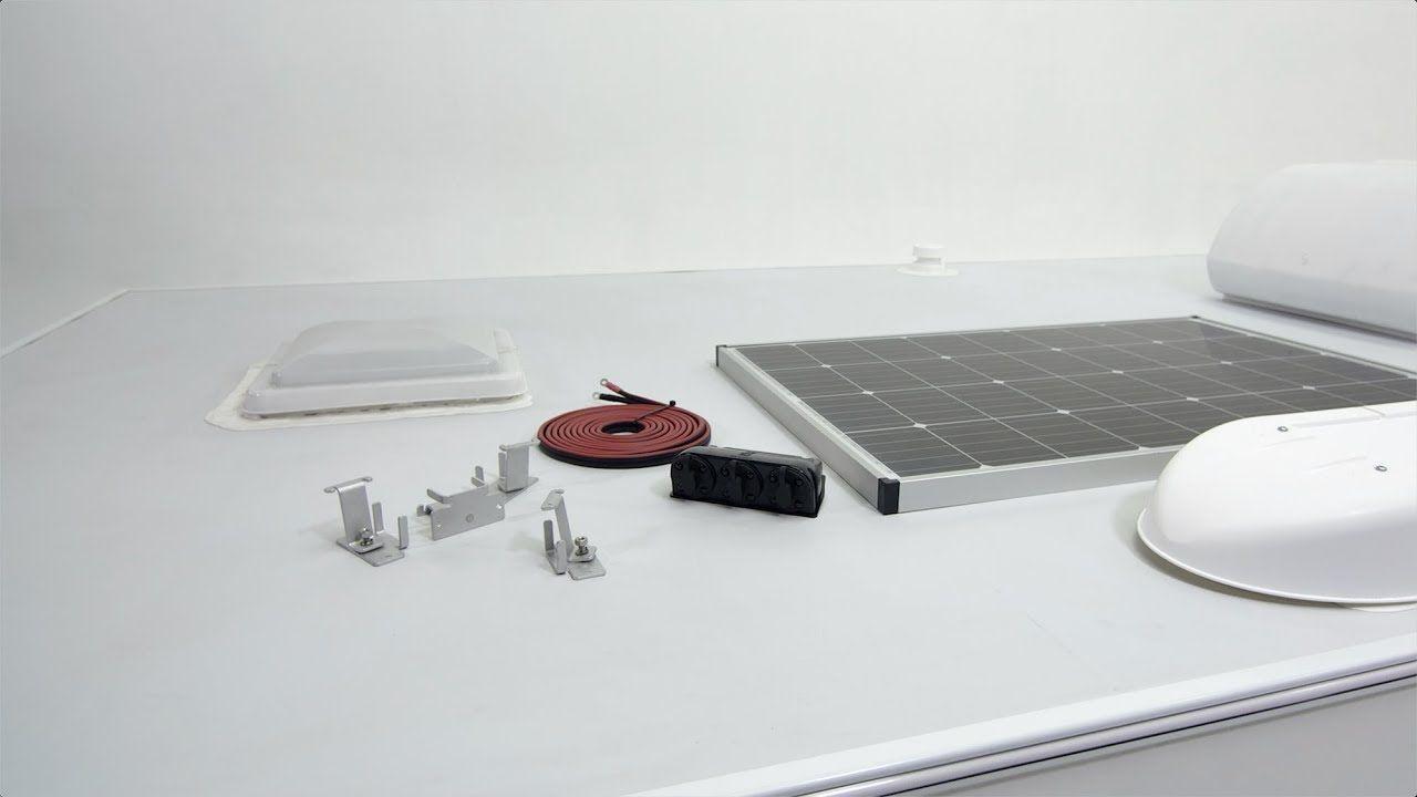 Zamp Solar Roof Mount Solar Kit Instal Solar Kit Solar Roof Installation