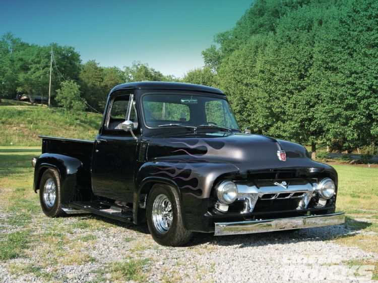 Old School F100 From Classic Trucks Another Work Of Perfection