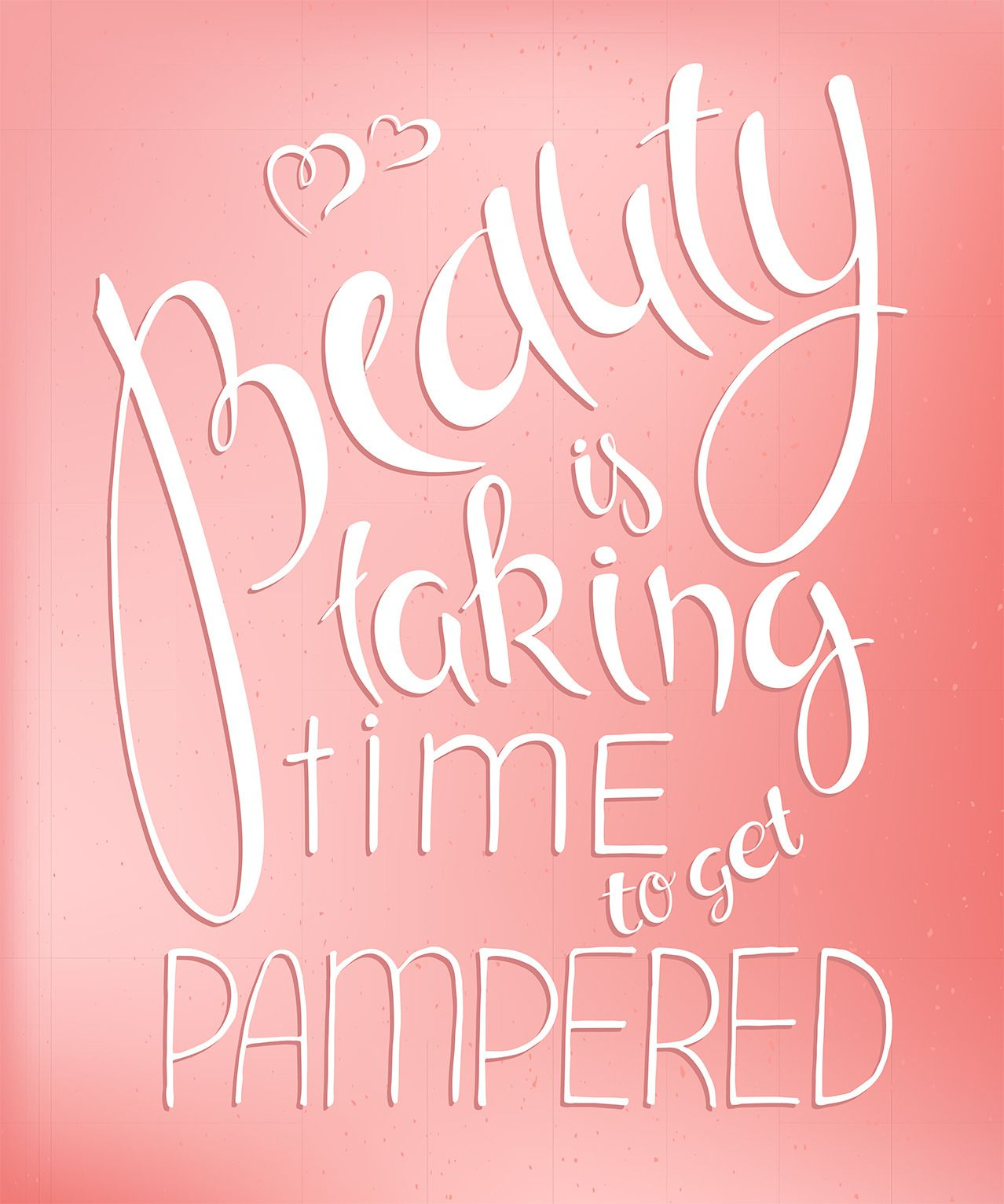 Beauty is taking the time to get pampered. Book your Spa