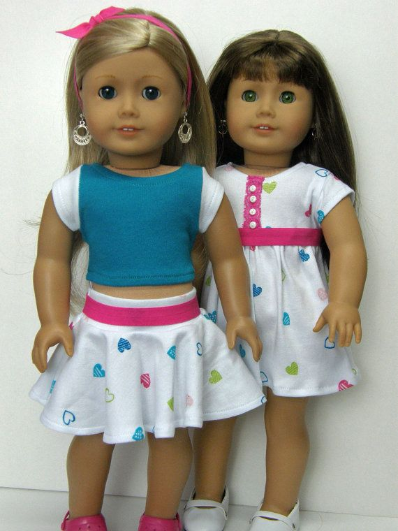 28abe6168 Spend $30 or more and receive 15% off using coupon code: 15PERCENT during  checkout. This 3 piece Girl Doll clothes outfit was made on American