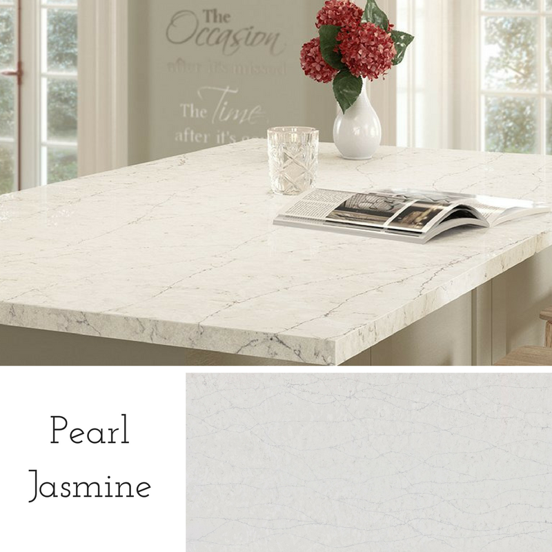 Pearl Jasmine Quartz by Silestone (Home Depot exclusive