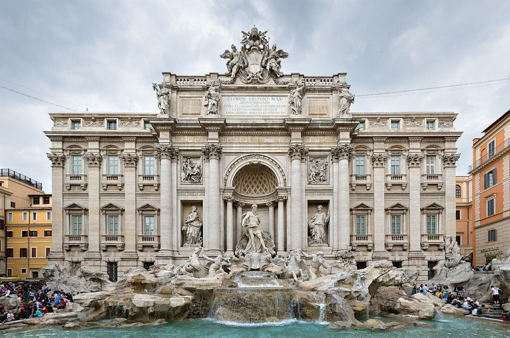10 Most Famous Monuments In Europe With Images Trevi Fountain