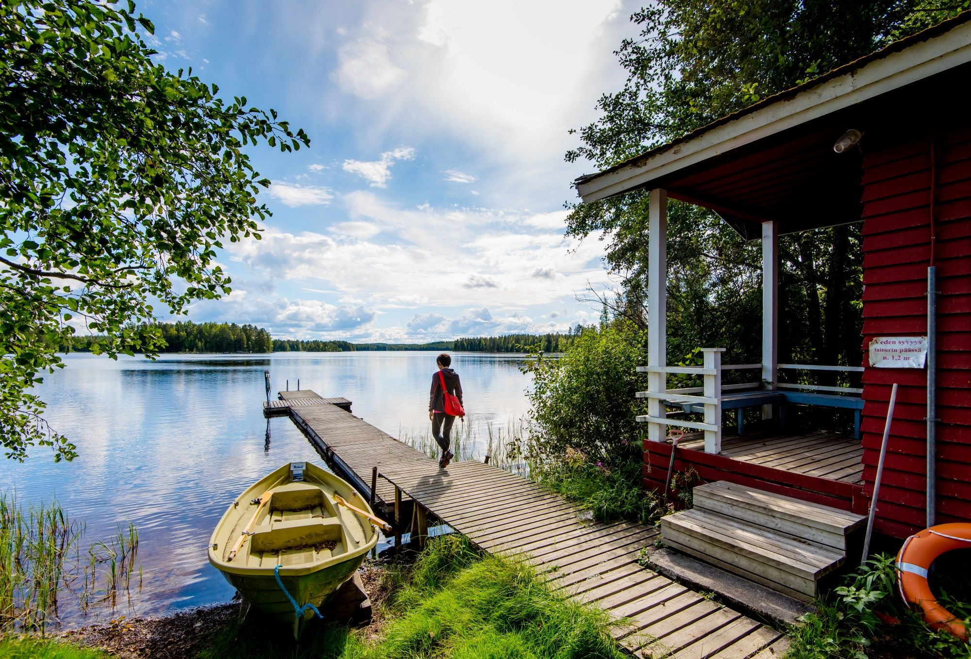 Finnland Ferienhaus Urlaub Mein Haus am Wasser