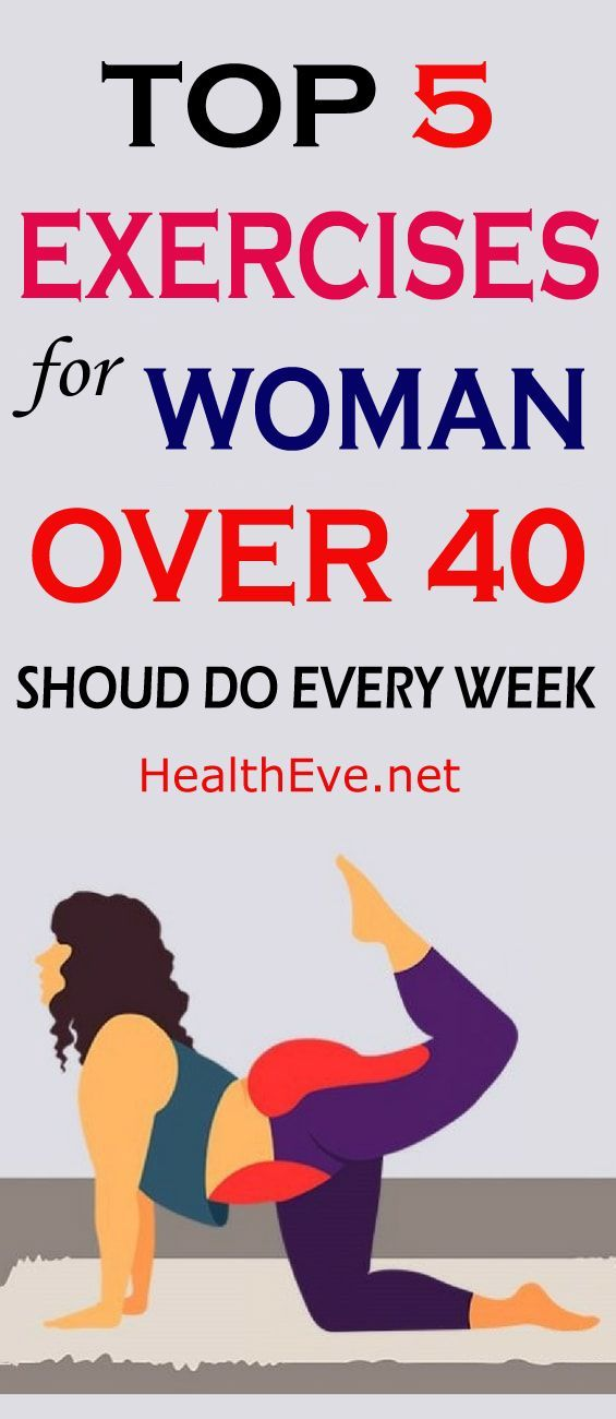 Top 5 Exercises For Women Over 40 Should Do Every Week | Gyms are expensive. But who needs These wor...