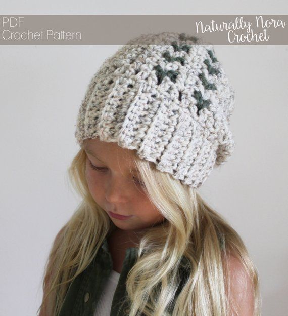 Crochet Pattern: The Clover Cap -Toddler, Child, & Adult Sizes ...