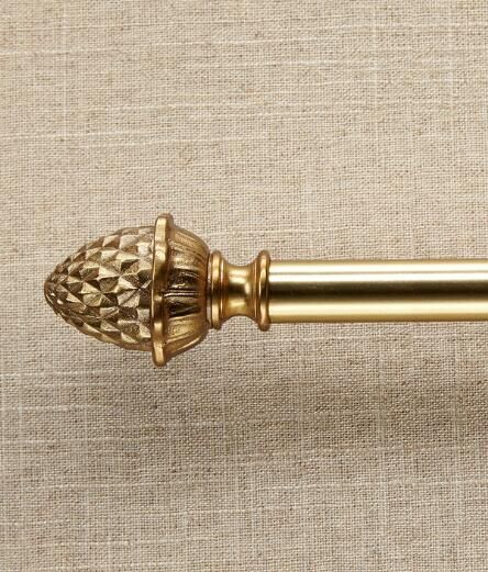Sheffield Pineapple Curtain Rod Finials Country Curtains
