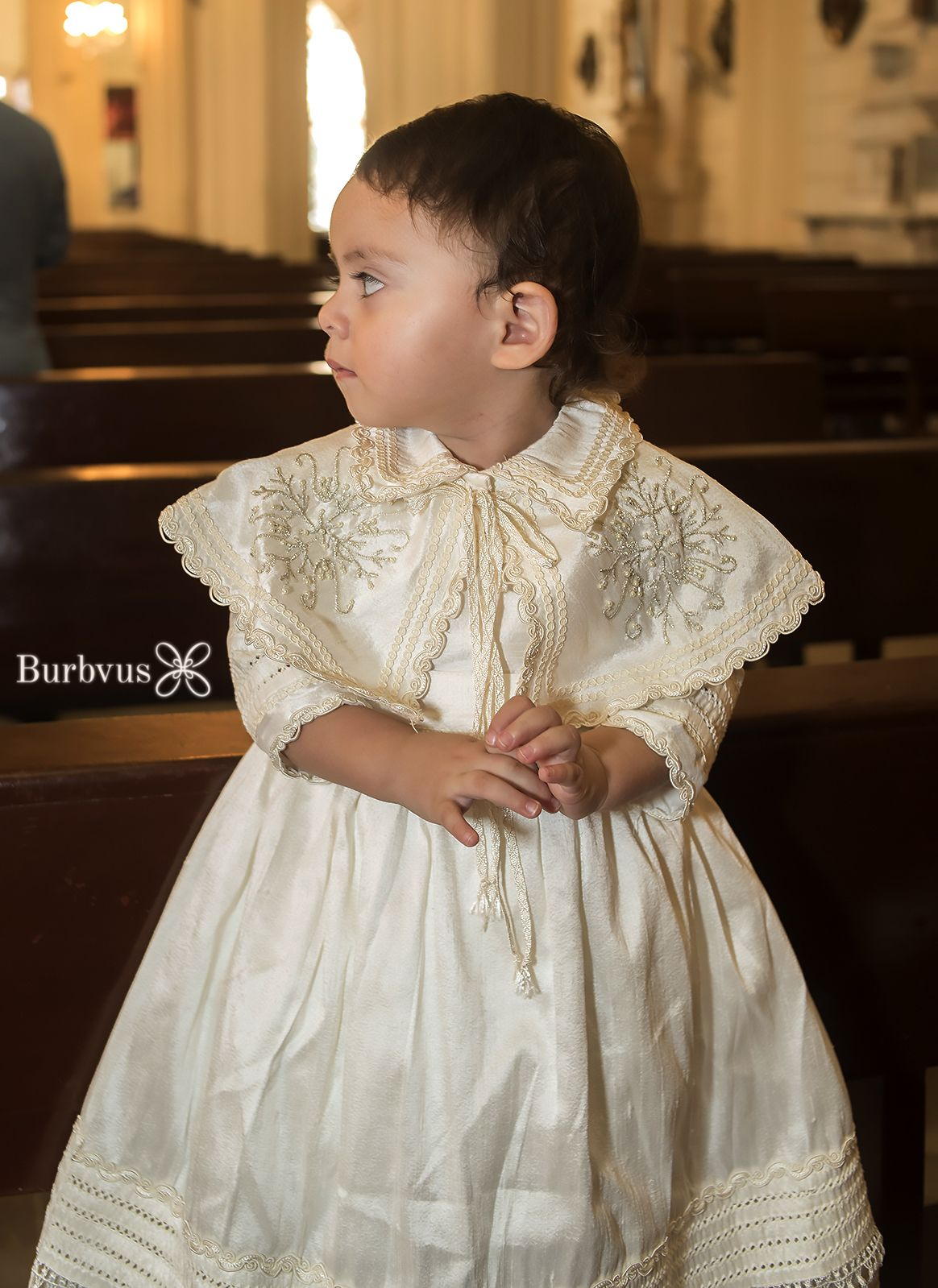 Hand Embroidered Christening Outfit Boys | HandMade Baptism Gown ...