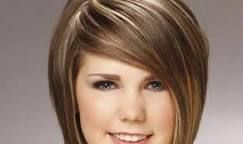 Resultado de imagen para cortes de cabello para cara redonda y cachetona