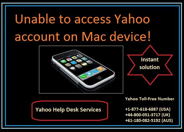 Problem to access Yahoo account on Mac device yahoo mail