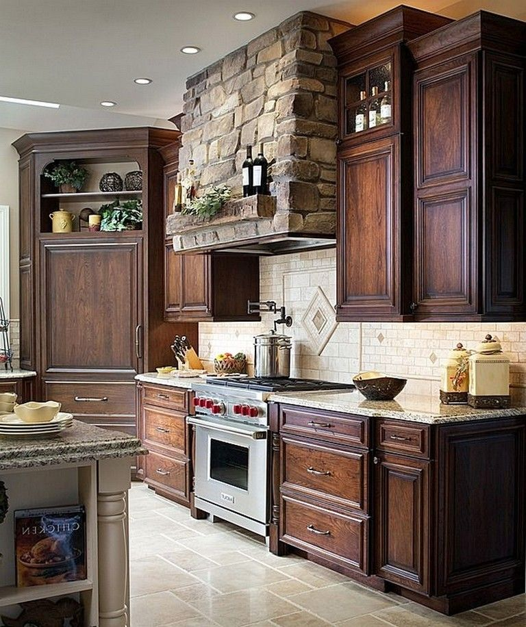 80+ Marvelous Farmhouse Kitchens Style - Rustic Kitchen ... on Rustic:yucvisfte_S= Farmhouse Kitchen Ideas  id=48908