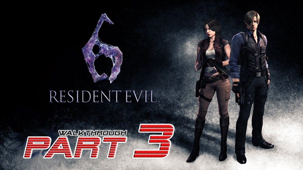 Resident Evil 6 Ps4 Leon Helena Walkthrough Gameplay Part 3