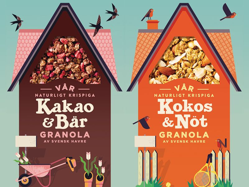 Packaging Designs for Start Cereal