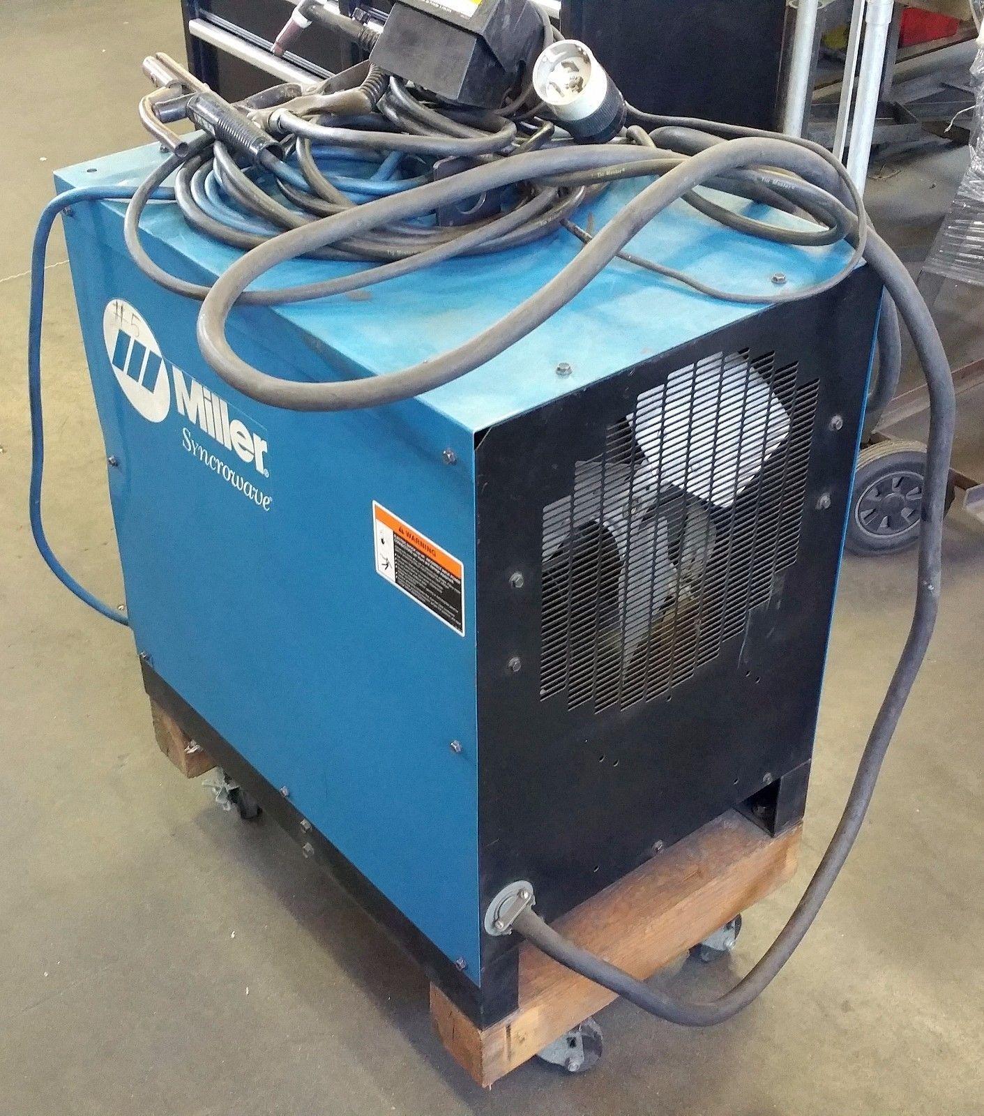 Miller Syncrowave 250 - TIG / STICK Welder | mig/tig/plasma power ...