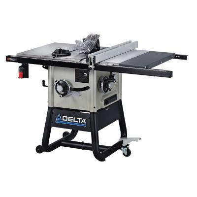 Delta 15 Amp 10 In Left Tilt 30 In Contractor Table Saw With Cast Iron Wings 36 5100 Herramientas De Carpinteria Esquemas Electricos Y Thing 1